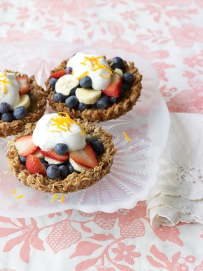 fruit granola tarts