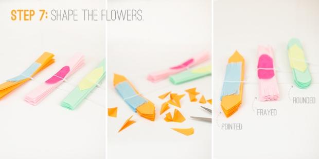 paper flowers step 7