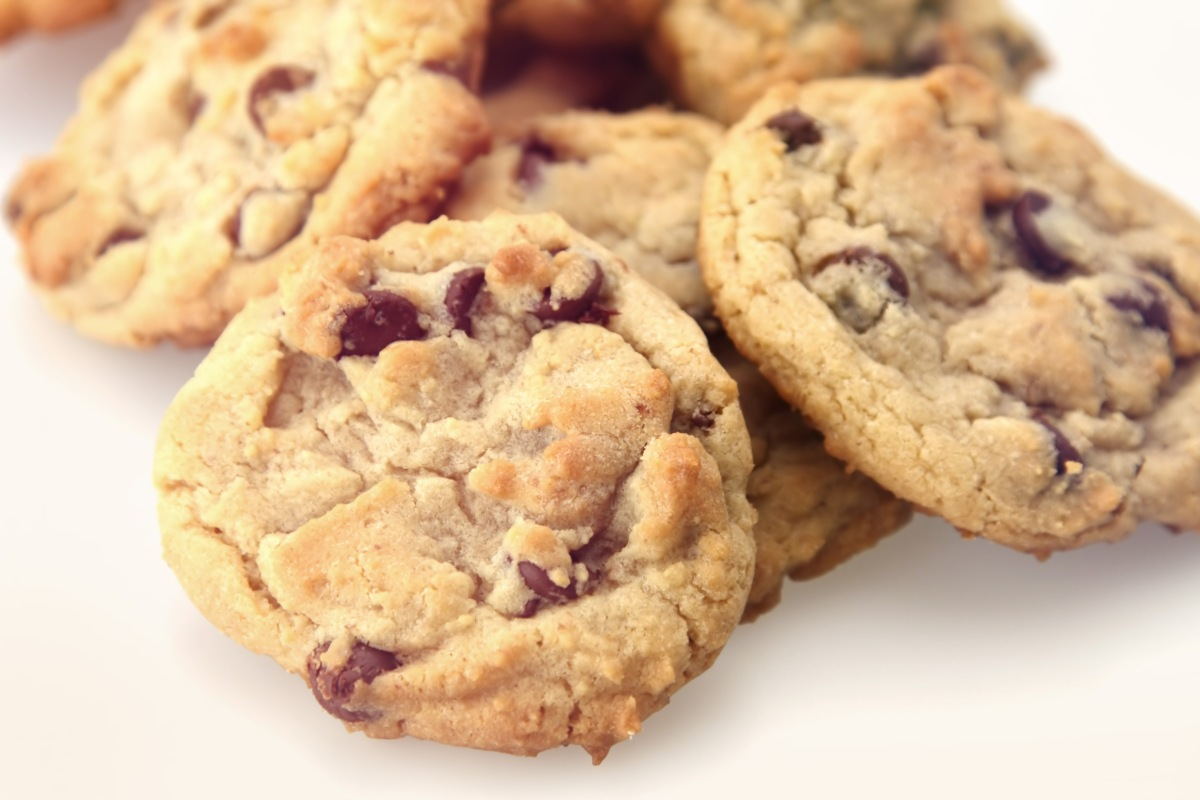 Gluten-Free Peanut Butter Chocolate Chip Cookies | From the Cupboard ...