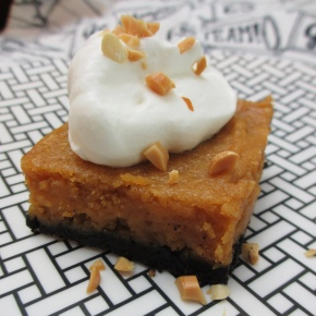 Sweet Potato-Peanut Butter Pie Bars