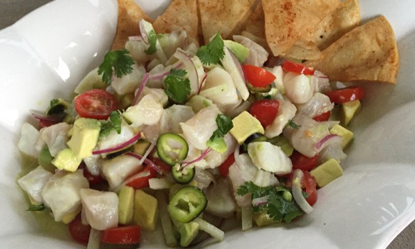 Whitney Miller's Red Snapper Ceviche | From the Cupboard | Official ...