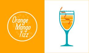 Orange Mango Fizz